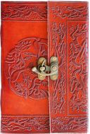 Cats Fire Single Clasp Journal