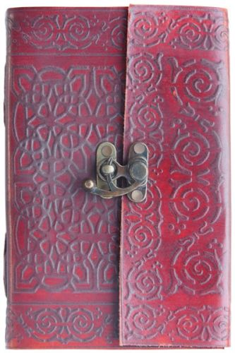 Small Cross Celtic Knot Single Clasp Journal