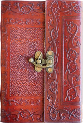 Small Cross U-Knot Single Clasp Journal