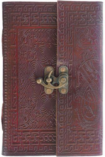 Spiral U-Knot Single Clasp Journal