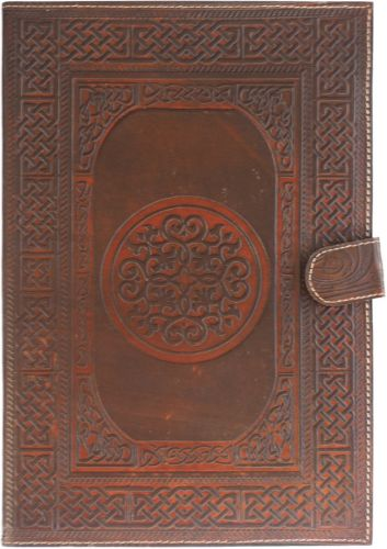 Circle Knot Large Notebook
