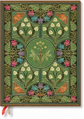 Paperblanks Poetry in Bloom Flexi Ultra | Week-at-a-Time 2021 Diary VER