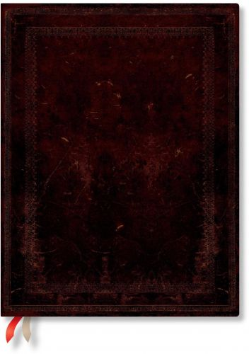 Paperblanks Black Moroccan Bold Flexi Ultra | Day-at-a-Time 2021 Diary
