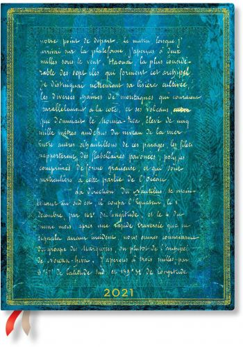 Paperblanks Verne 20,000 Leagues Flexi Ultra | Day-at-a-Time 2021 Diary (NEW) (PRE-ORDER)