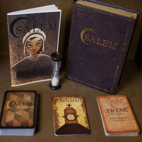 Salem 1692: A Card Game of Deception for 4-12 Players (NEW)