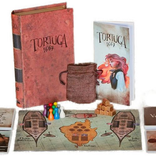 Tortuga 1667: A Pirate Game of Mutiny, Plunder & Deceit
