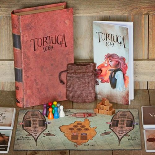 Tortuga 1667: A Pirate Game of Mutiny, Plunder & Deceit (NEW)