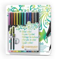 Chameleon Fineliners 12 pack Bright Colours (NEW)
