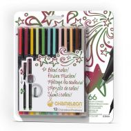 Chameleon Fineliners 12 pack Designer Colours (NEW)