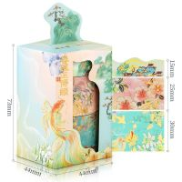 Washi Tape - Box Spring Breeze (3pcs) (NEW)