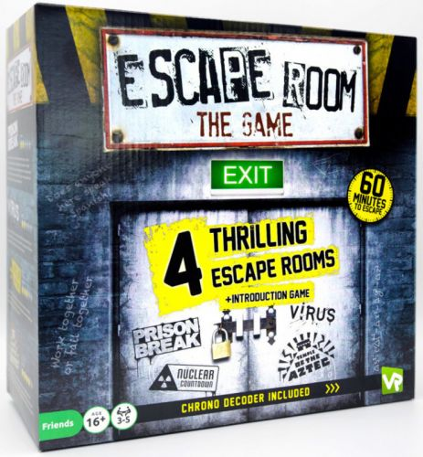 Escape Room the Game - 4 Rooms plus Chrono Decoder (NEW)