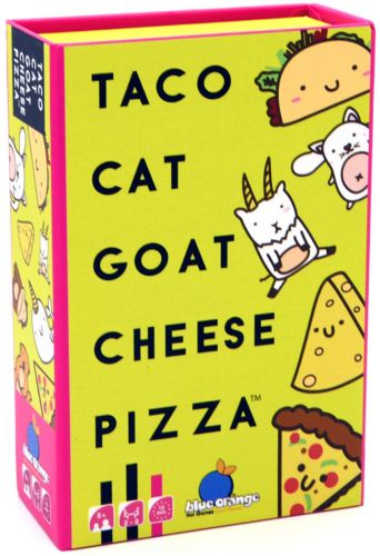 Taco Cat Goat Cheese Pizza - Card Game (NEW)