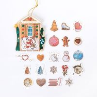 Stickers - Christmas Ornaments (40pcs bag) (NEW)