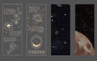 Stickers- Bag - Planet of Broken Dreams (4 Sheets) (NEW)