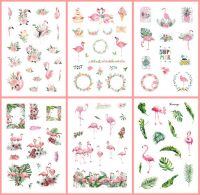 Stickers - Flamingos (6 sheets)