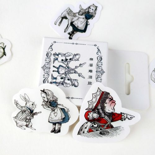 Stickers - Gothic Alice in Wonderland Box (45pcs box)