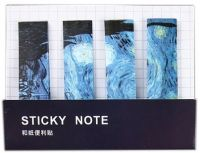 Stickers - Starry Night Post-It Sticky Notes (80 tabs)
