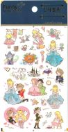 Stickers - Cinderella (1 sheet, 30pcs approx.)