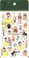 Stickers - Snow White (1 sheet, 30pcs approx.)