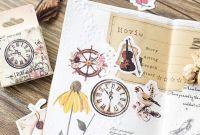 Stickers - Vintage Clocks (46pcs box)