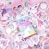 Stickers Box Unicorn (46pcs) (NEW)