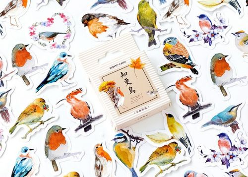 Stickers - Birds (45pcs box)