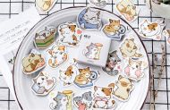 Stickers - Cat Scratching Pole (45pcs)