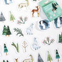 Stickers - Box - Mist Forest - (45pcs) (NEW)