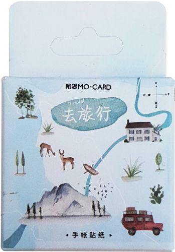 Stickers - Travel (46pcs box)