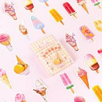 Stickers - Ice Cream Dispenser Vending Machine (46pcs box)