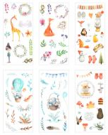 Stickers - Forest Animals (6 sheets)