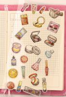 Stickers - Bag - Make Up (1 sheet) (NEW)