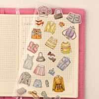Stickers - Clothing Acessories - (1 sheet) (NEW)