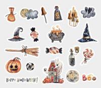 Stickers - Bag - Halloween (40pcs) (NEW)