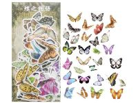 Stickers - Past Events Butterfly Story (60pcs)