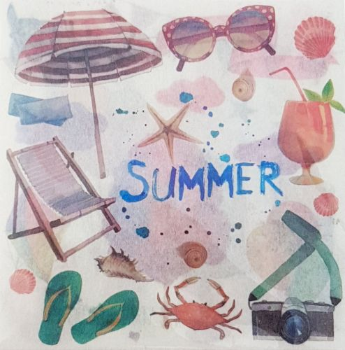Stickers - Summer Square (10 sheets)