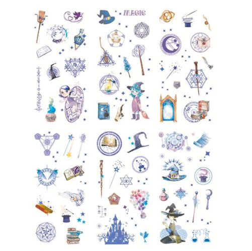 Stickers - Witch Purple (6 sheets)