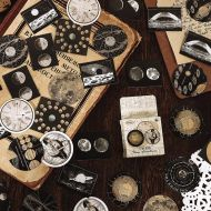 Stickers - Box - Astronomical Time (46pcs) (NEW)