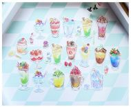 Stickers -  Bag Summer Drinks 20pcs (NEW)