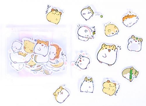 Stickers - Hamsters Stickers (20pcs)