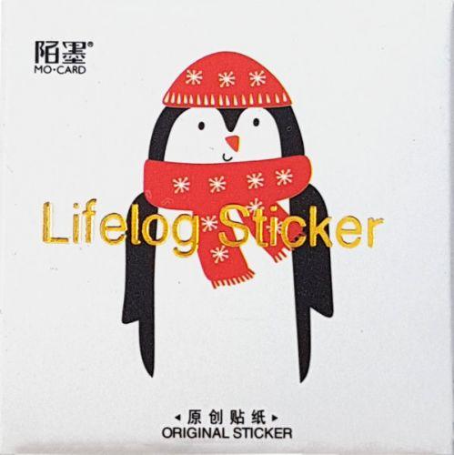 Stickers - Christmas Penguin (50pcs box)
