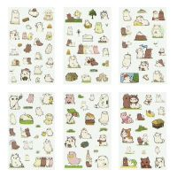 Stickers - Alpaca Family (6 sheets) (NEW)