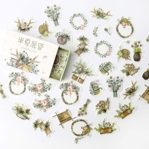 Stickers - Pine Twilight (40pcs box) (NEW)