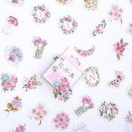 Stickers - Box - Flower Set (50pcs) (NEW)