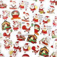 Stickers - Christmas Santa (45pcs box) (NEW)