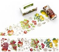Washi Tape - Wide Fruit (90mm x 3m) (NEW)
