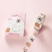 Washi Tape - Cats Paws Tape Pink (15mm x 5m)
