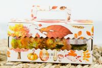 Washi Tape - Wide Autumn (90mm x 5m)