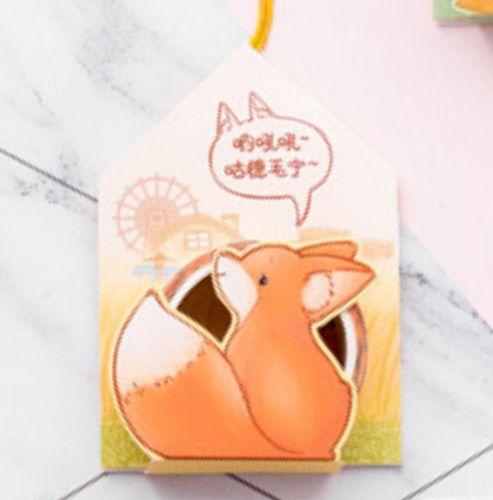 Washi Tape - Fox Tape in Bag (15mm x 5m)