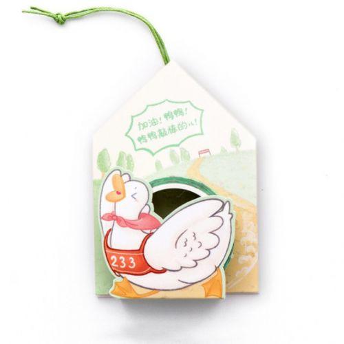 Washi Tape - Bag Running Duck (15mm x 5m) (NEW)
